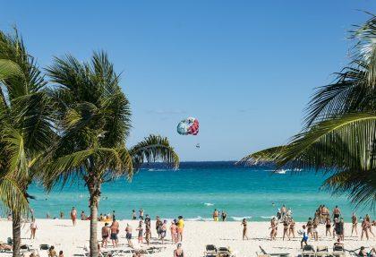 mexico beach & culture