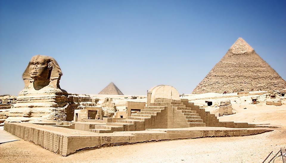 Visit Egypt, Sphinx, Pyramids